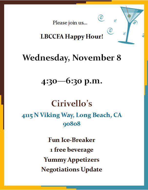 LBCCFA Happy Hour